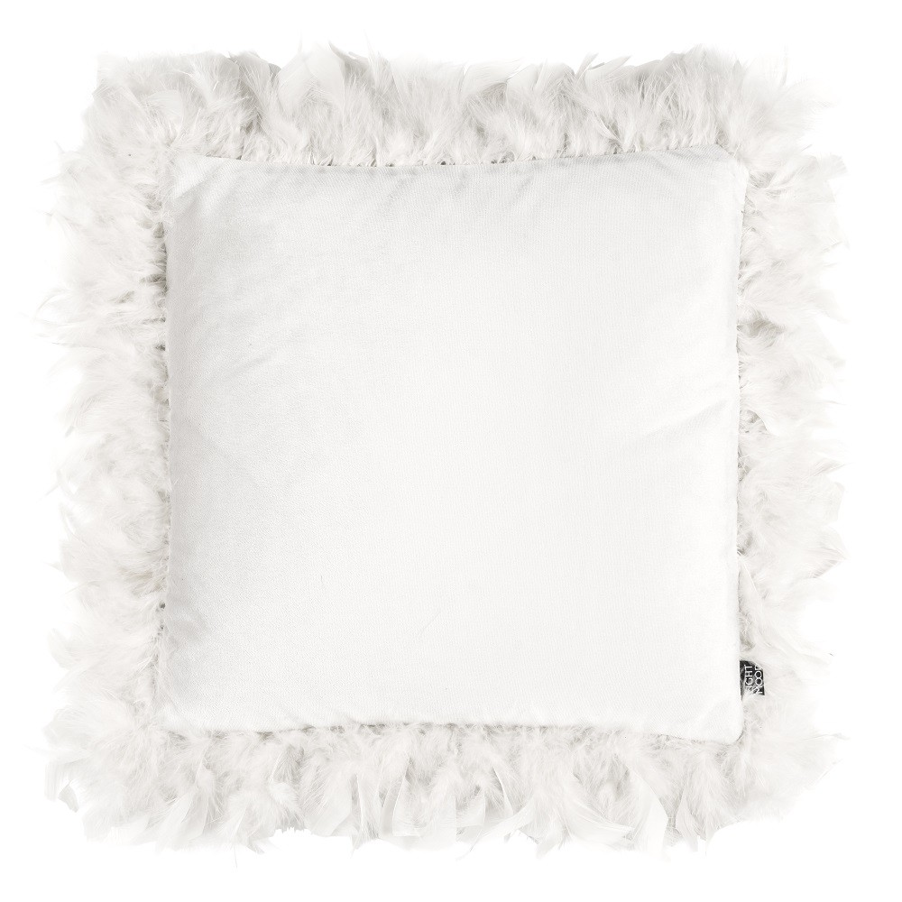 Kissen Eightmood 'Joselyn' Feather Frame 40x40cm
