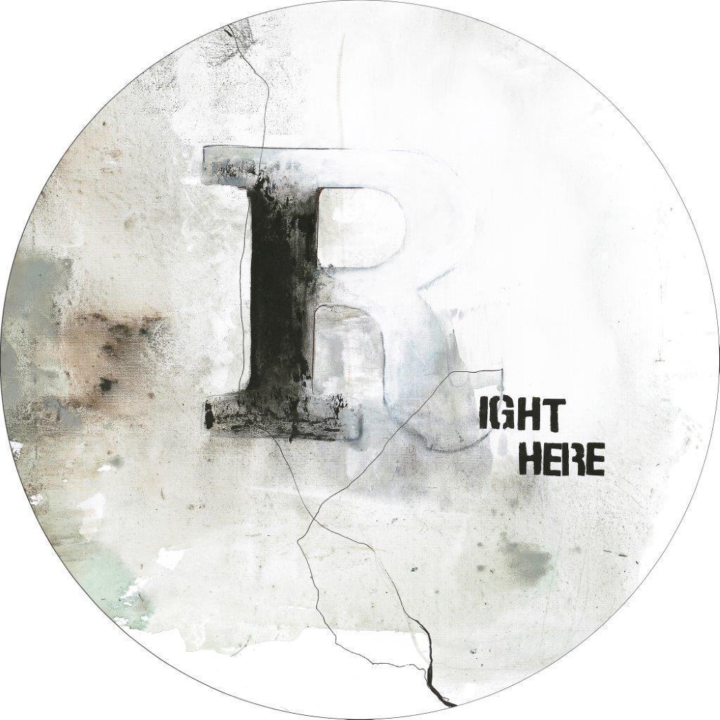 Wandbild Malerifabrikken 'Right Here' Circle Art