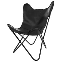Butterfly Chair Eightmood 'Amorica' schwarz