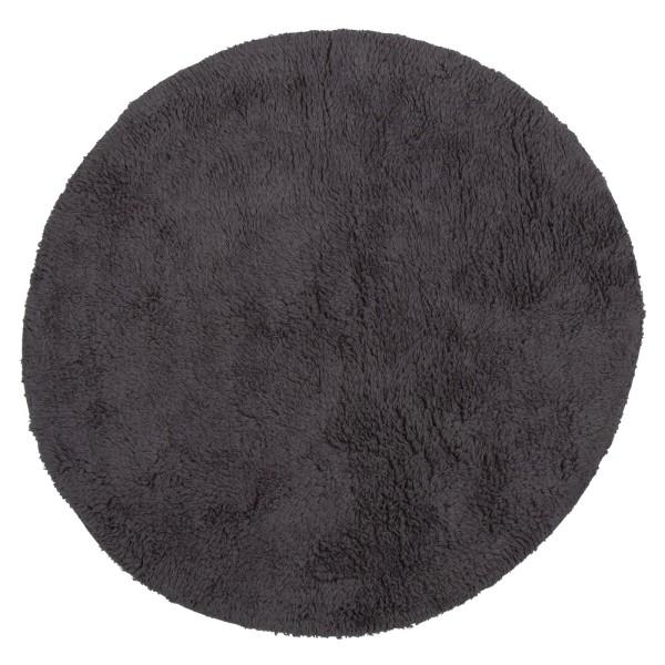 Badvorleger 'Luna' 60 cm dunkelgrau