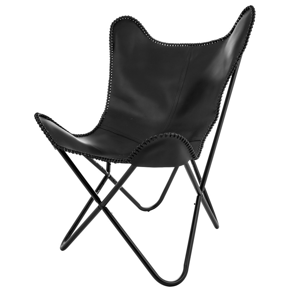 Butterfly Chair Eightmood 'Amorica' schwarz