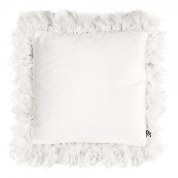 Kissen Eightmood 'Joselyn' Feather Frame 40x40cm