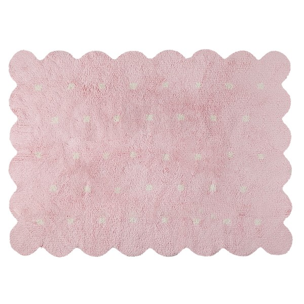 """Galleta"" 120 x 160 cm - biscuit pink"