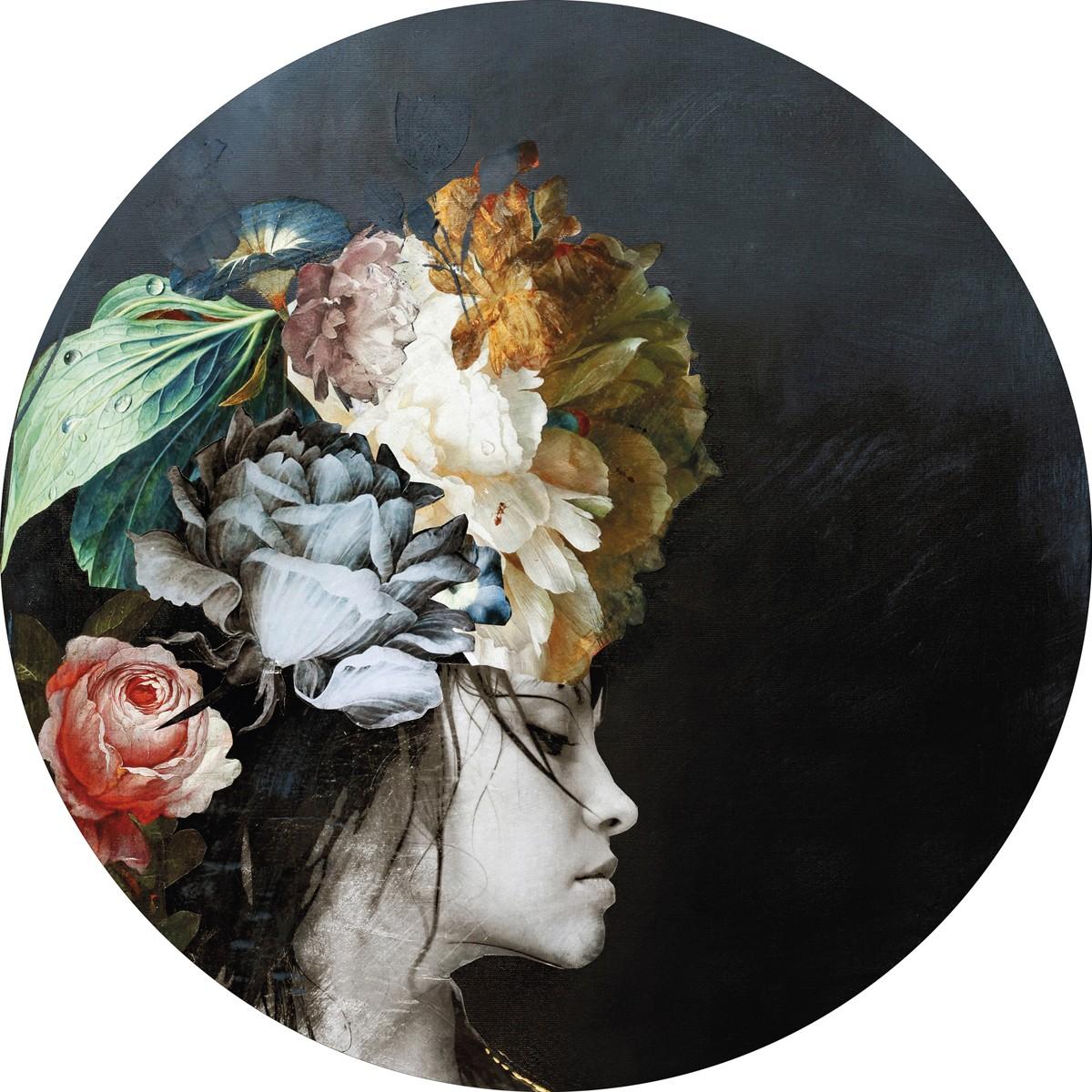 Bild Malerifabrikken 'Haute Couture 1' Circle Art