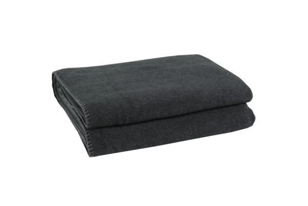 """Soft Fleece"" 160 x 200 cm - anthrazit"