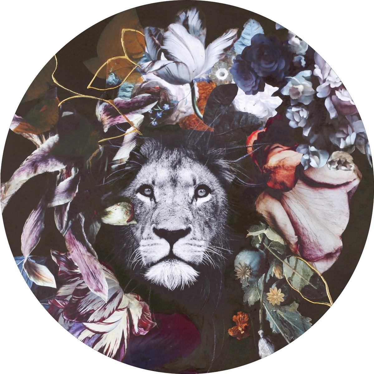 Bild Malerifabrikken 'Wild Couture 3' Circle Art