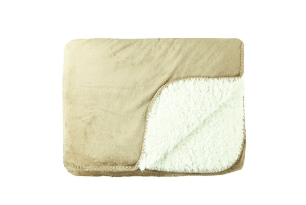 """Milton Throw"" - beige 130x170cm"