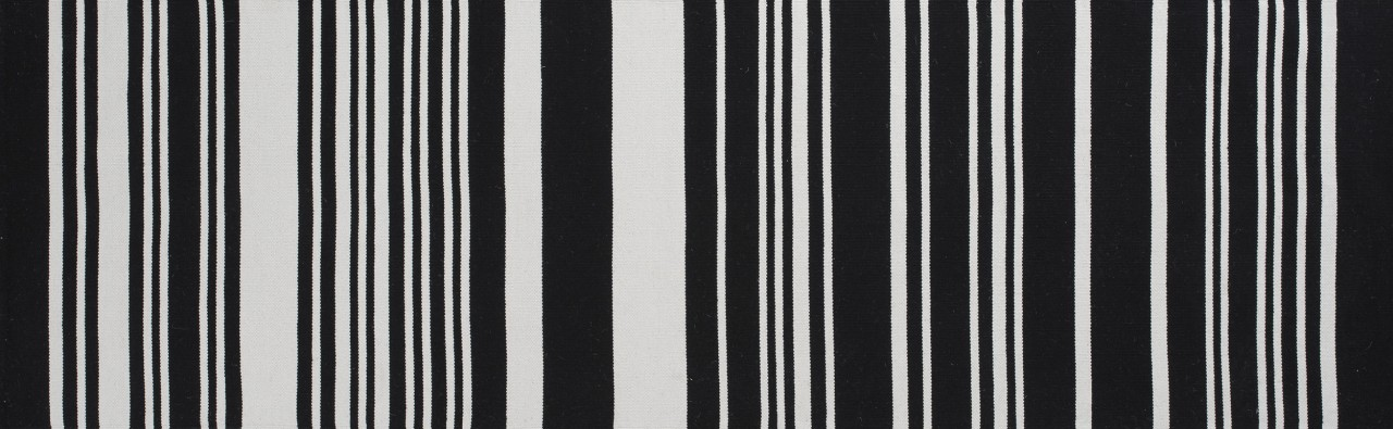 "Teppich ""Glorious"" 80 x 150 cm - black"