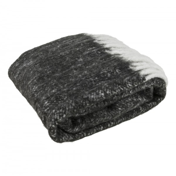Decke Eightmood 'Lucy' Throw 130x150cm schwarz