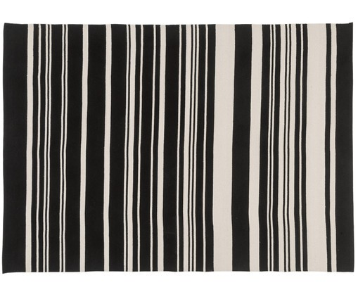 "Teppich ""Glorious"" 60 x 90 cm - black"